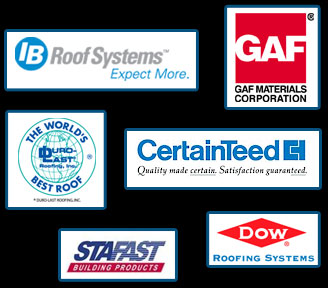 We use only the highest quality roofing products